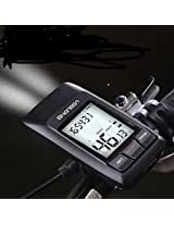 ROCKBROS Bicycle Wireless USB Rechargable Speedometer With Light Bike Computer Stopwatch