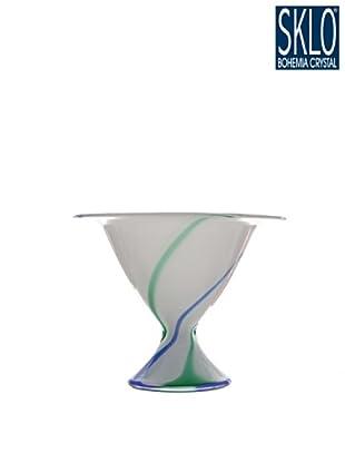 Cristal de Bohemia Florero Qwiz H 23 Cm
