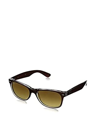 Ray-Ban Gafas de Sol New Wayfarer 2132 614371 (55 mm) Marrón