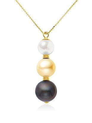 Manufacture Royale des Perles du Pacifique Halskette  mehrfarbig