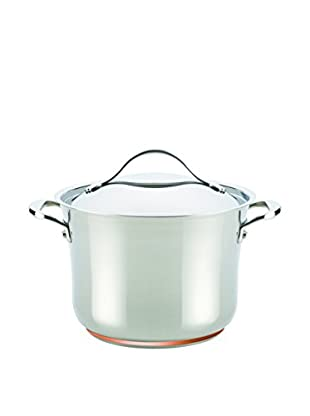 Anolon Nouvelle Copper Stainless Steel 6.5-Qt. Covered Stockpot