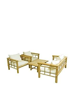 Zero EmissionWorld Bamboo Sofa Set, Natural