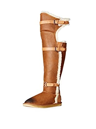 Australia Luxe Collective Women's Machina X-Tall Shearling Boot with Buckles