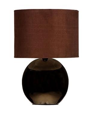 PREMIER Tischlampe braun