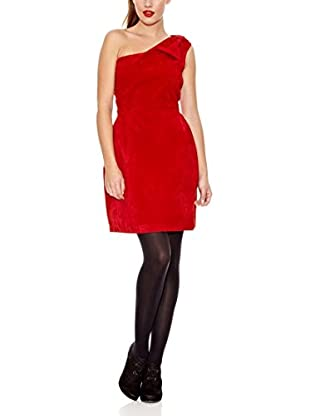 Trakabarraka Vestido Simetrix Rojo M