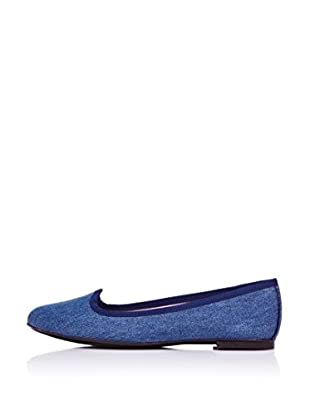 Bisue Slippers Denim (Azul)