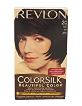 Revlon Colorsilk Beautiful Color, Brown Black 20
