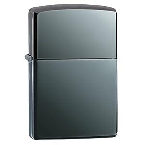 Zippo Black Ice Pocket Lighter, 5 1/2 x 3 1/2 cm