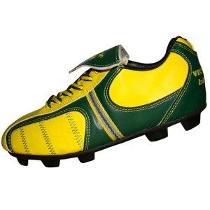 Vector X Brazil Football Studs | Shoe Size (UK/Indian) 2 | Color Multicolour
