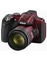 Nikon Coolpix P600 Point & Shoot Camera Red
