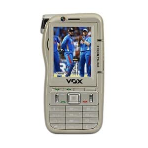 VOX 4 SIM Touch & Type Dual Camera Mobile cum Camcorder - DV10
