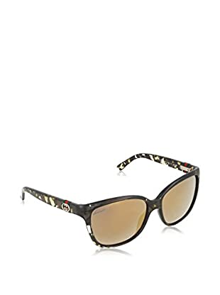 Gucci Sonnenbrille 3645/S SQ (56 mm) havanna