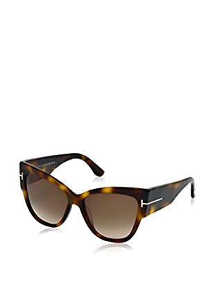 Tom Ford Sonnenbrille Anoushka (57 mm) havana