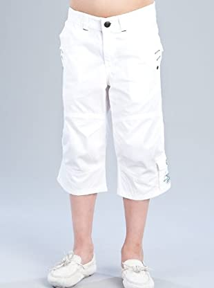 Kenzo Kids Bermuda Bolsillos (blanco)