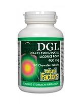 Natural Factors Dgl Licorice Chewable/ 400Mg/ 180 Count