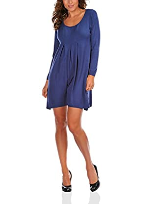 Bleu Marine Vestido Celine