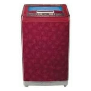 LG 7 Kg WF T8019PV Top Loading Fully Automatic Washing Machine-Dark Red