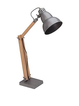 De-sign Lights Schreibtischlampe Edward silber