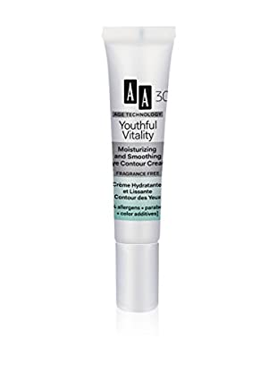 AA Cosmetics Augenkonturencreme Age Technolofy Youthful Vitality 30+ 15 ml, Preis/100 ml: 86.33 EUR