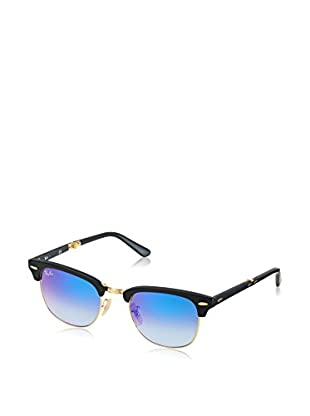 Ray-Ban Occhiali da sole Clubmaster Folding (51 mm) Nero