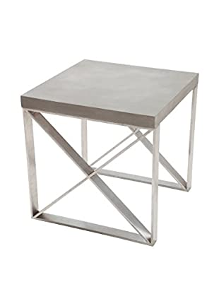 Zuo Modern Paragon Side Table, Cement