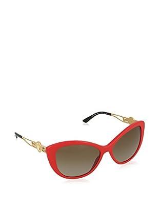 VERSACE Gafas de Sol VE4295 256/13 (57 mm) Rojo