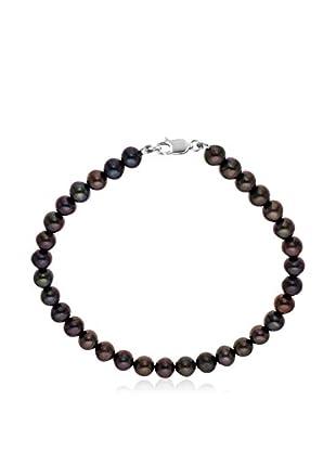 Manufacture Royale des Perles du Pacifique Pulsera  plata de ley 925 milésimas rodiada
