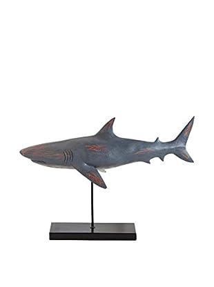 Mercana Swimming Shark Statue II