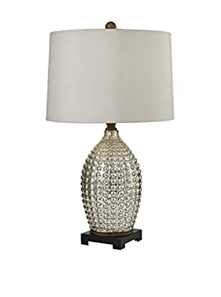 Artistic Lighting Table Lamp, Antique Mercury, Bronze