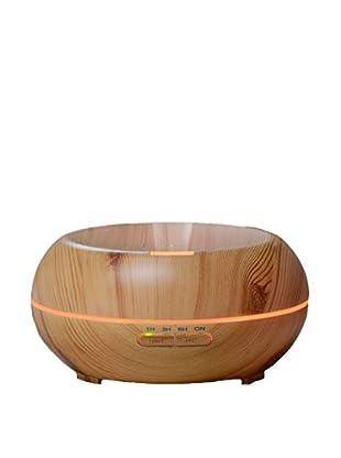 Wood 200mL Aroma Diffusing Humidifer with Color-Changing Mood Lighting