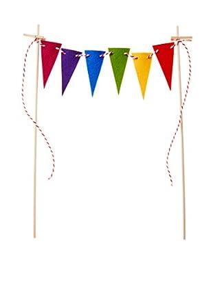 ACME Party Box Cake Topper (Rainbow)