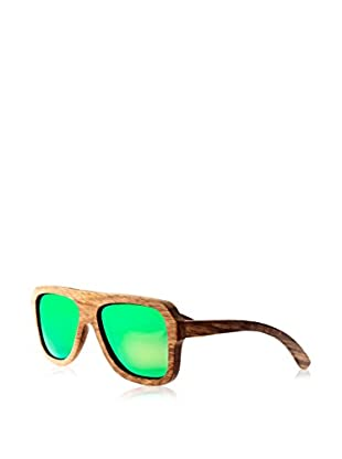 Earth Wood Sunglasses Occhiali da sole Wood Siesta (60 mm) Marrone
