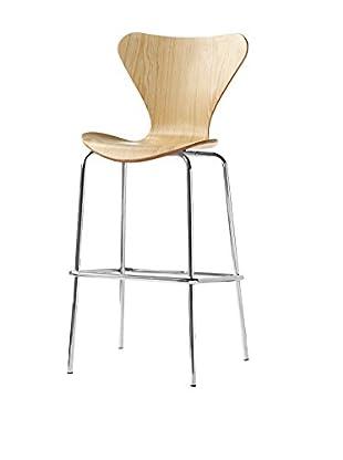 Manhattan Living Jays Bar Stool Chair, Natural