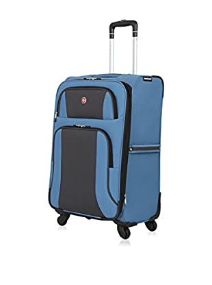 SwissGear Blue/Grey Upright Spinner