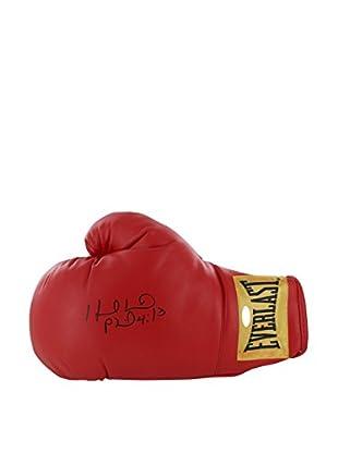 Steiner Sports Memorabilia Evander Holyfield Signed Red Boxing Glove