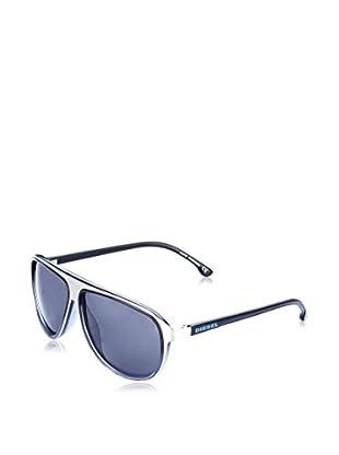 Diesel Sonnenbrille DL9048 silberfarben