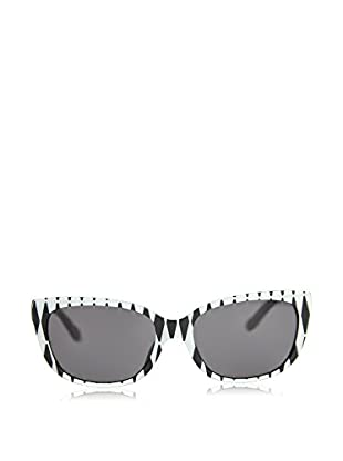 Moschino Gafas de Sol MO-740S-01 (56 mm) Blanco / Negro