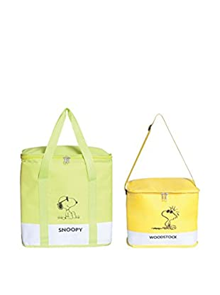 Soul Kitchen Thermotasche 2er Set Peanuts Verde, Giallo