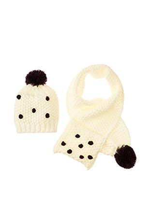 3 Pommes Set Mütze und Schal