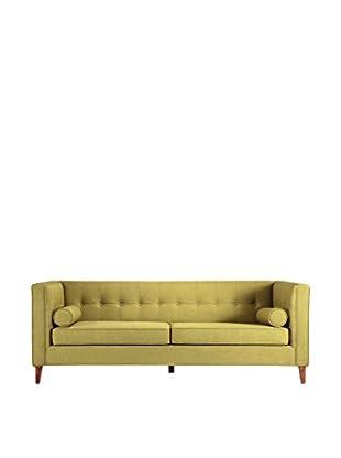 Kardiel Jefferson Mid-Century Modern Sofa, Moss