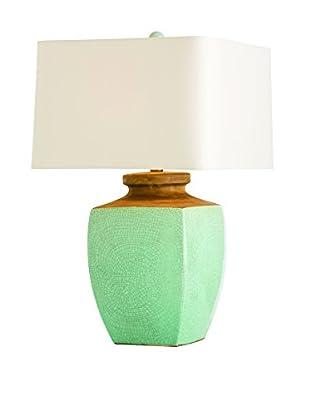 Arteriors Home Fawn Lamp, Teal
