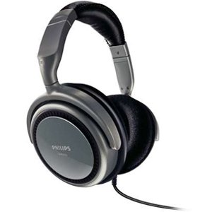 Philips SHP270097 Stereo Headphones-Black