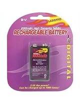 LENMAR PRO19 9-Volt Rechargeable NiMH Battery