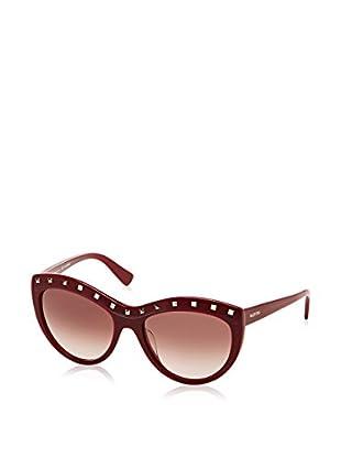 Valentino Gafas de Sol 651S_606 (56 mm) Rojo Oscuro