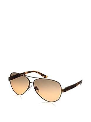 Tory Burch Women's TY6031 Bronze/Grey Orange Fade  Sunglasses
