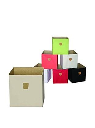 phoenix home Set, 2-tlg. Aufbewahrungsbox beige