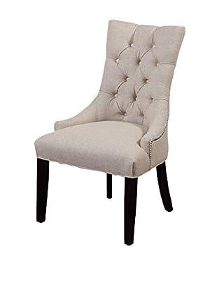 Bassett Mirror Company Fortnum Tufted Nailhead Parsons Chair