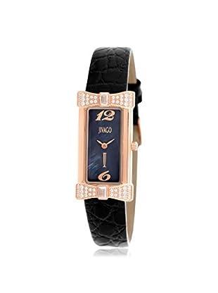 Jivago Women's JV1413 Charmante Analog Display Swiss Quartz Black Watch
