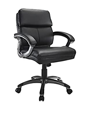 Modway Stellar Mid Back Office Chair, Black