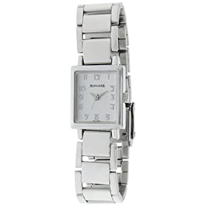 Sonata Wedding Analog White Dial Women's Watch - NF8080SM02